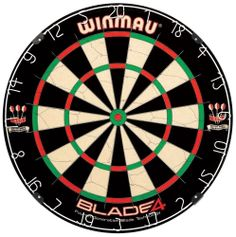 Winmau Blade 5 Dual Core Bristle Dartboard - Up your darts game with the Winmau Blade 5 Dual Core Bristle Dartboard . This premium bristle dartboard, made with high-quality sisal in a steel. Sisal, Darts And Dartboards, Dartboard Surround, Best Darts, Wire Spider, Diana, Dart Board Cabinet, Darts Game, Games