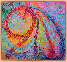 "Anne Lullie Art Quilt  Colorplay II  ____________________  47"" x 51""  NFS"