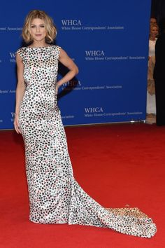 AnnaLynne McCord in Ingie Paris at the 2016 White House Correspondents Dinner