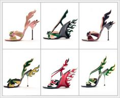 Prada Flame heels.... wish I could still find a pair