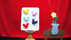 """""""Mickey Mouse Magnets"""""""