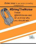 USA only ~ Giveaway ~ Win Noise Cancelling Headphones ~   Mandatory Twitter Follow ~ Ends April 19  http://www.linkiescontestlinkies.com/2013/04/giveaway-win-noise-cancelling.html