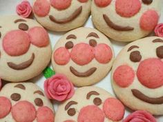 ☆簡単アンパンマンクッキー☆の画像 Food Design, Cookies, Desserts, Recipes, Drinks, Crack Crackers, Tailgate Desserts, Drinking, Biscuits