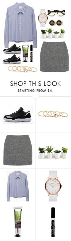 """""""channel"""" by vintage-0ne ❤ liked on Polyvore featuring beauty, Retrò, With Love From CA, T By Alexander Wang, Band of Outsiders, Marc Jacobs, The Body Shop, Rimmel and Wildfox"""