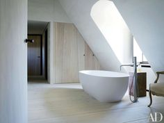 Interior is designed by Axel Vervoordt