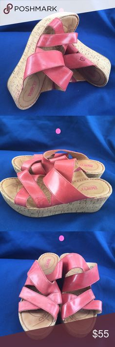 Born size 8 Like new Born Shoes Wedges