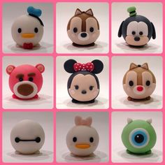 My Tsum Tsum Cake Toppers: