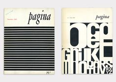 Pagina, international review of graphic design