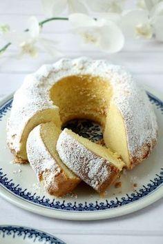 Puszysta babka piaskowa ~ Just Yummy Bake