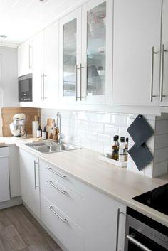 Sigdal kjøkken - Line Kitchen Cabinets, Kitchen Ideas, Interiors, Home Decor, Modern, Decoration Home, Room Decor, Cabinets, Decor