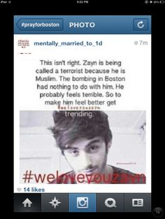 PLEASE MAKE THIS TREND FOR ZAYN!! Repin if you care!! Thank you!!