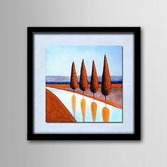 Paysage+Peinture+à+l'huile+Peint+à+la+main+Toile+Wall+Art+Un+Panneau+Prêt+à+accrocher+–+EUR+€+49.99