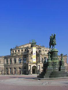 Opera House (Semperoper), Dresden, Germany