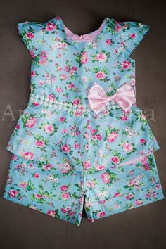 Little Girl Outfits, Cute Outfits For Kids, Toddler Outfits, Baby Girl Dresses, Baby Dress, Dress Anak, Baby Pants, Cute Baby Clothes, Kids Wear