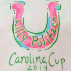 Lilly Pulitzer Carolina Cup Tee at Pink Bee 2/22/14 xx PB