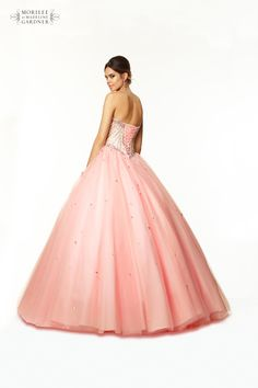 Mori Lee Paparazzi Prom Dress - Style 97017 - Available in Champagne/Blush & Champagne/Coral - http://www.pandorasprom.co.uk/