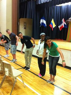 Seminary-Avoiding Temptation  I great team building activity and fun with a purpose