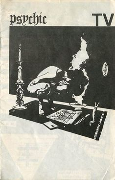 boring music for boring people — theekabaal: Psychic TV cassette cover Arte Punk, Punk Poster, Arte Cyberpunk, Arte Horror, Design Graphique, Graphic Design Inspiration, Zine, Cover Art, Art Inspo