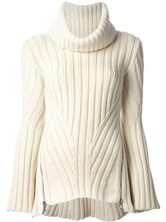Alexander Mcqueen Thick Ribbed Sweater -
