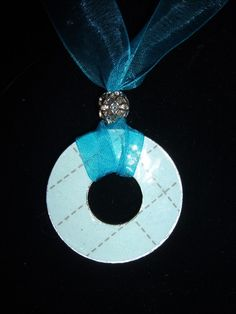 washer necklace - like this idea...