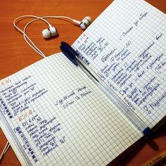 Bullet Journal длястудентки