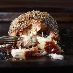 Incredibly easy and delicious garlic-fennel pork roast. Foolproof!