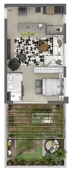 Smart Artsy Source by fergysbabe Small House Plans, House Floor Plans, Plans Architecture, Apartment Floor Plans, Apartment Layout, Sims House, Tiny House Living, Tiny House Design, House Layouts