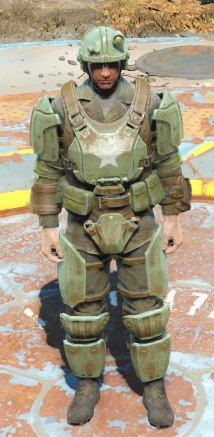 Fallout 4 Combat Armor Medium EVA Foam by ArmorCorpCustoms