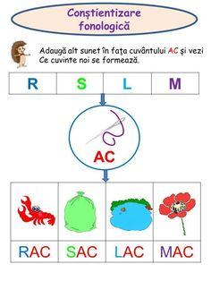 Program de educare şi exersare a conştiinţei fonologice - Logorici Montessori Toddler, Kids Education, Fairy Tales, Teaching, Activities, Children, School, Cards, Early Education