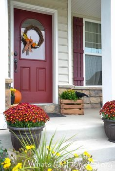 Fall porch 2014, Fall front porch