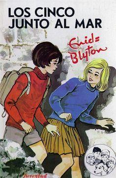 Enid Blyton Famous Five vintage book cover