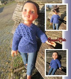 Ravelry: Casual Chic Sweater pattern by Tillys Wishes