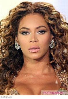 Beyonce Silver Eye Makeup - Beyonce Makeup Pictures