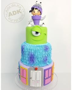 Monsters S.A cake
