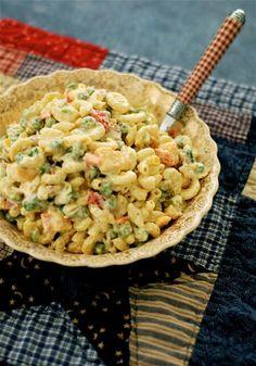 Macaroni picnic salad with ranch & parmesan dressing recipe
