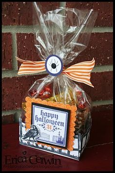 Spooky Fence Gift Bag Box