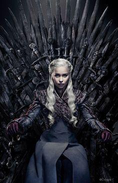 Daenerys Targaryen on the Iron Throne_CVogia EditYou can find Daenerys targaryen and more on our website.Daenerys Targaryen on the Iron Throne_CVogia Edit Tatuagem Game Of Thrones, Dessin Game Of Thrones, Arte Game Of Thrones, Game Of Thrones Tattoo, Game Of Thrones Facts, Game Of Thrones Dragons, Game Of Thrones Quotes, Game Of Thrones Funny, Game Thrones