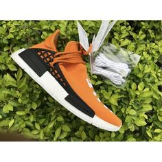 on sale e784f 12664 2017 Pharrell x adidas NMD Human Race Tangerine Skor Online Adidas Nmd R2,  Cheap Adidas