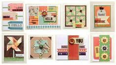 Basic Grey Card of the Month Kit August COTM
