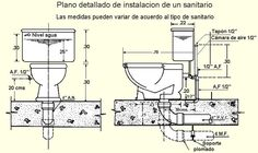 Image result for instalaciones sanitarias domiciliarias Bathroom Plumbing, Plumbing Pipe, Home Decor Bedroom, Modern Bedroom, Electrical Installation, Modern Kitchen Cabinets, Bathroom Layout, Toilet Sink, Water Systems