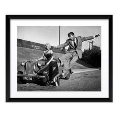 Artography Limited Marilyn Monroe & Sammy Davis Jr. Fine Art Print (4.500 NOK) ❤ liked on Polyvore featuring home, home decor, wall art, black, black framed wall art, american home decor, marilyn monroe home decor, black wall art and photo wall art