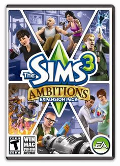 The Sims 3 - expansion pack - Ambitions