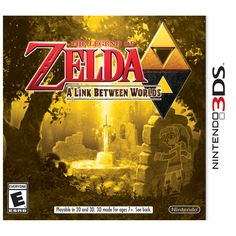 The Legend of Zelda: A Link Between Worlds - 3DS Box (USA)