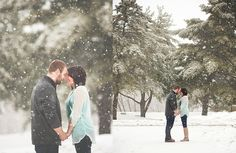 Winter Engagement | Southern Indiana Photographer | Kreations by Kierra Photography