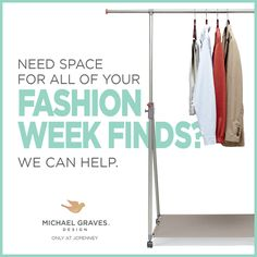 Need More Closet Space? Find This Pin And More On Michael Graves Design ...