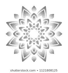 Mandala Elefant Tattoo, Dotwork Tattoo Mandala, Mandala Tattoo Design, Geometric Tattoo Stencil, Geometric Sleeve Tattoo, Tattoo Stencils, Bild Tattoos, Leg Tattoos, Body Art Tattoos