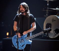 images dave grohl | Dave Grohl Musician Dave Grohl of The Foo Fighters performs onstage ...