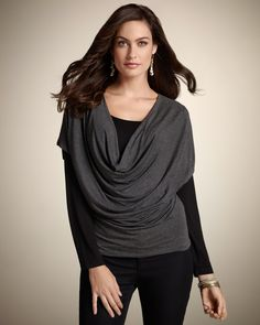 I likey this -   Chico's Saturday Duet Top