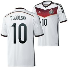 Germany 2014 World Cup Soccer jersey (10 Podolski)- Germany 2014 World Cup Soccer jersey (10 Podolski) designed with unique style and terrific quality is no longer expensive in this online shop. A big discount and free shipment of Germany 2014 World Cup Soccer jersey (10 Podolski) is accompanied with your purchasing.- http://www.uswmis.com/germany-2014-world-cup-soccer-jersey-10-podolski-uswmiscom-p-2349.html