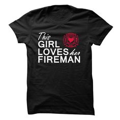 This girl loves her fireman >> Click Visit Site to get yours hot Shirts & Hoodies - Only $19 - $21. #tshirts, #photo, #image, #hoodie, #shirt, #xmas, #christmas, #gift, #presents, #LifeStyleShirts